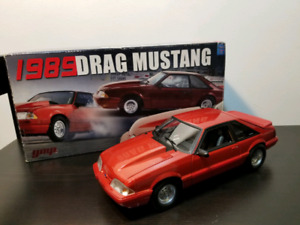 [1/500] GMP 1989 Ford Mustang Drag Version 1/18 diecast model