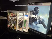 Playstation 3 320gb slim ps3 controller games