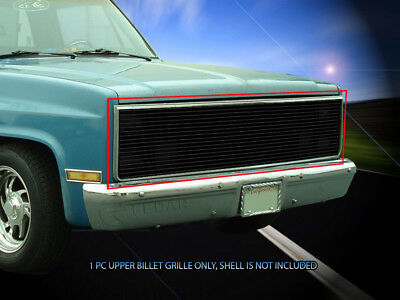 Gmc Suburban Grill - Black Billet Grille For 1981-1988 Chevy/GMC C/K Pickup Jimmy Blazer Suburban