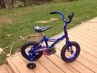 Small childs boys bike supercycle