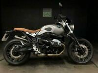 BMW R NINE T SCRAMBLER 2017. 9K MILES. FSH. JUST SERVICED. H GRIPS. VGC