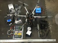 Hexa copter apm 2.6 with telemetry and FPV.