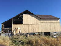 BARN RESTORATION, REPAIRS AND STEEL ROOFING