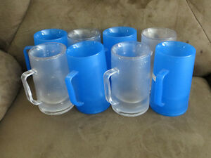 9 freezable acrylic mugs Kitchener / Waterloo Kitchener Area image 1