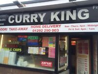 Busy Indian takeaway *Ayr*