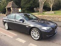 2010 60 BMW 5 SERIES 520 2.0 TD 184 DIESEL 6 SPEED MANUAL SALOON /58mpg £110 TAX