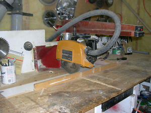 "10"" RADIAL ARM SAW, DEWALT"