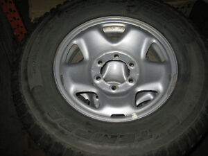 TOYOTA TACOMA TRD 16' STUDDED TIRES AND WHEELS