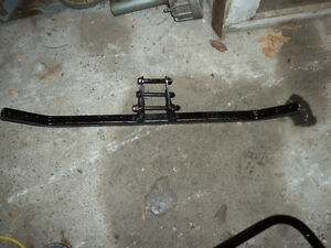 1985 1986 Big Red Honda front Nerf bars
