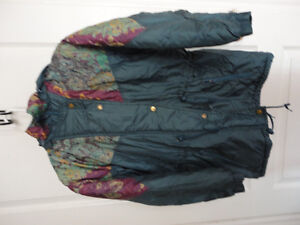 Girl's Nevada blue teal coloured jacket coat hood Size XL 14 London Ontario image 1