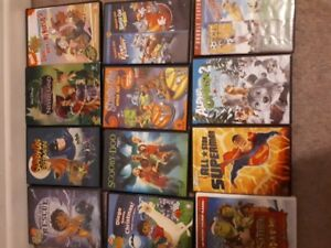 Various kids dvds