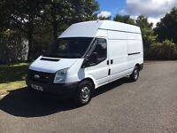 2007/56 Ford transit T350 LWB high top 2.4���new timing chain���more vans available���no vat