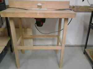 Router Table and Router