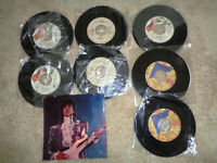 45 Rpm Purple Vinyl Records Prince some Picture Sleeve & Promo's