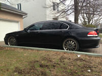 2005 BMW 745 LI Series Black Edition
