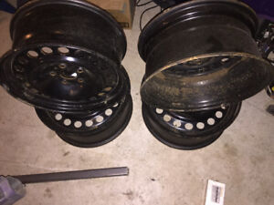 """17"""" Factory Ford Steel Winter Rims"""