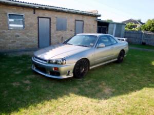 1998 NISSAN SKYLINE R34 GTT TURBO