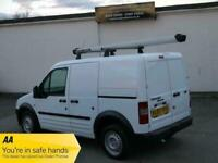 2007 FORD TRANSIT CONNECT T200 1.8 TDCI SWB LOW TOP WHITE ROOF RACK NEW MOT VAN