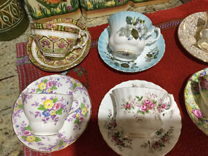 Various Special Bone China  Items 4 Sale!