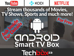 ANDROID SMART TV BOXES - KODI- HD TV / MOVIES / SPORTS + MORE