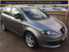 2006 Seat Altea 1.6 8v Reference Sport 1 owner from new+67k FSH