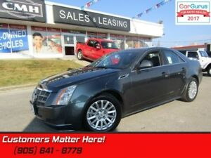 2012 Cadillac CTS   AWD, LEATHER, ROOF, HS, MEM, NEW TIRES !