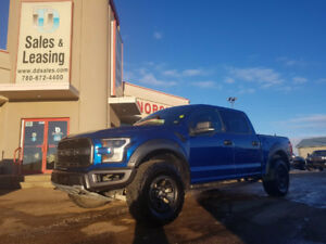 2017 Ford F-150 Raptor- 26,545 kms, Pano Moonroof, Command Start
