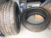 2 x Tires 275/40/20 106Y Range Rover