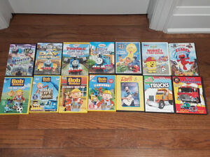 14 Kids DVDs - In excellent condition