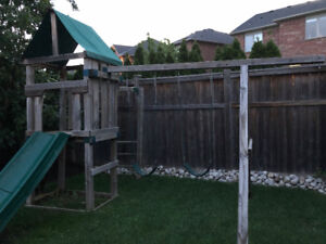 Free Outdoor Kids Play Structure