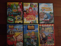 kids movies, DVD's, assorted