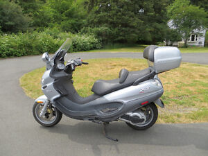 2006 Piaggio Evolution x/9 500 trade down to Scoot 200-350cc