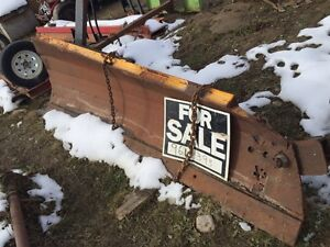 HD snow blades 11' long w/tractor mound