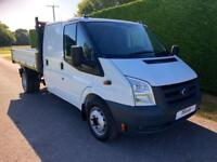 2012 12 FORD TRANSIT T350 TDCI 115PS UTILITY CAB TIPPER * ONE STOP BODY * DIESEL