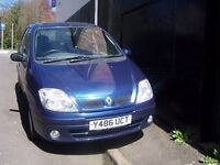 Renault Megane Scenic, New Mot - leather, a/c. alloys, twin sunroof, the lot- cheap at £495