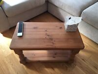 Medium Pine coffee table - great for shabby chic