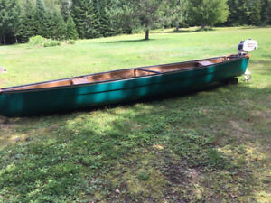 16 Foot Coleman with Outboard
