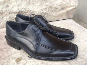 Brand New Leather Shoe in black - Size 8