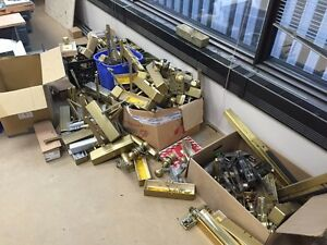Random Brass Commercial Door Hardware