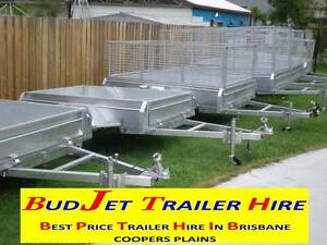 TRAILER HIRE  BOX CAGED 6x4, 7x4 upto 16x6 ft Starting @$50 24hrs Brisbane Region Preview