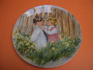 SET OF 4 WEDGWOOD COLLECTOR PLATES RIDING HIGH, OUR GARDEN PLUS London Ontario image 3