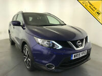 2015 NISSAN QASHQAI TEKNA DCI DIESEL LEATHER INTERIOR 1 OWNER SERVICE HISTORY