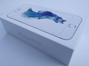 Factory unlocked silver iPhone 6s 64GB with Apple care