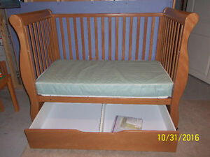 Caramia convertible crib/daybed Windsor Region Ontario image 2