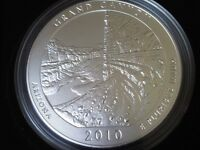 2010 5 OZ ATB America The Beautiful NP4 GRAND CANYON Silver Coin