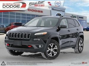 2016 Jeep Cherokee Trailhawk  REARVIEW CAMERA | HEATED SEATS | R