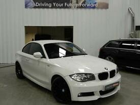 2009 BMW 1 SERIES 123D M SPORT COUPE DIESEL