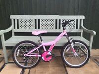 Girls Apollo Kinx pink bike