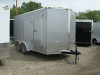 New 14' x 7' Continental Cargo Trailer ( 2016 Model )