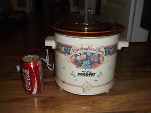 crock pot cocotte auto cuiseur Rival made in canada mijoteuse